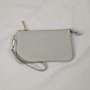 New - Indigo Leather Wallet / Clutch